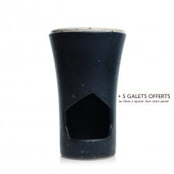 Brûle-parfum Noir Charbon