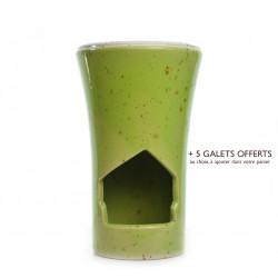 Brûle-parfum Vert Tilleul