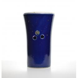 Brûle-parfum Bleu Marine vue de dos