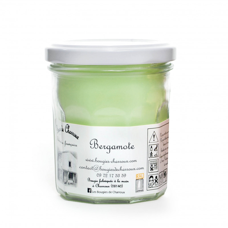 Bougie Bergamote fermée