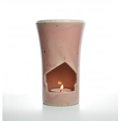 Brûle-parfum Rose Vintage allumé