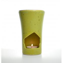 Brûle-parfum Vert Anis allumé