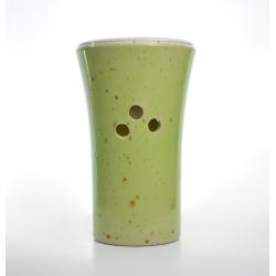 Brûle-parfum Vert Tilleul vue de dos