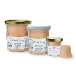 Tailles bougies Cannelle Orange