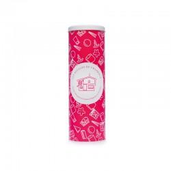 Boite cadeau rose Bougies de Charroux