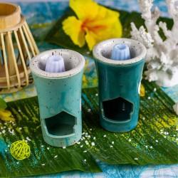 Ambiance brûle parfum bleu canard