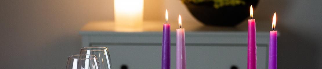 Bougies décoratives non parfumées - Les Bougies de Charroux