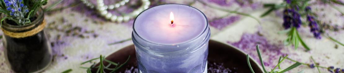 Bougies aux huiles essentielles et cire végétale - Bougies de Charroux