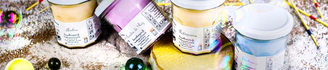 Bougies parfumées Souvenirs d'enfance : toutes les fragrances - Bougies de Charroux