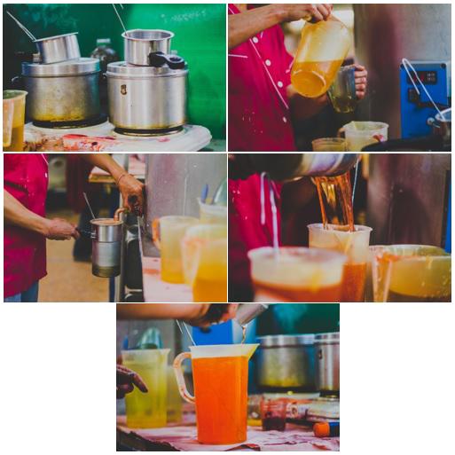 mélange secret de cire