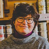 Joëlle Corgnet - fondatrice des Bougies de Charroux